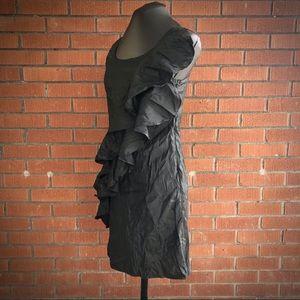 Harmony ruffle mini dress